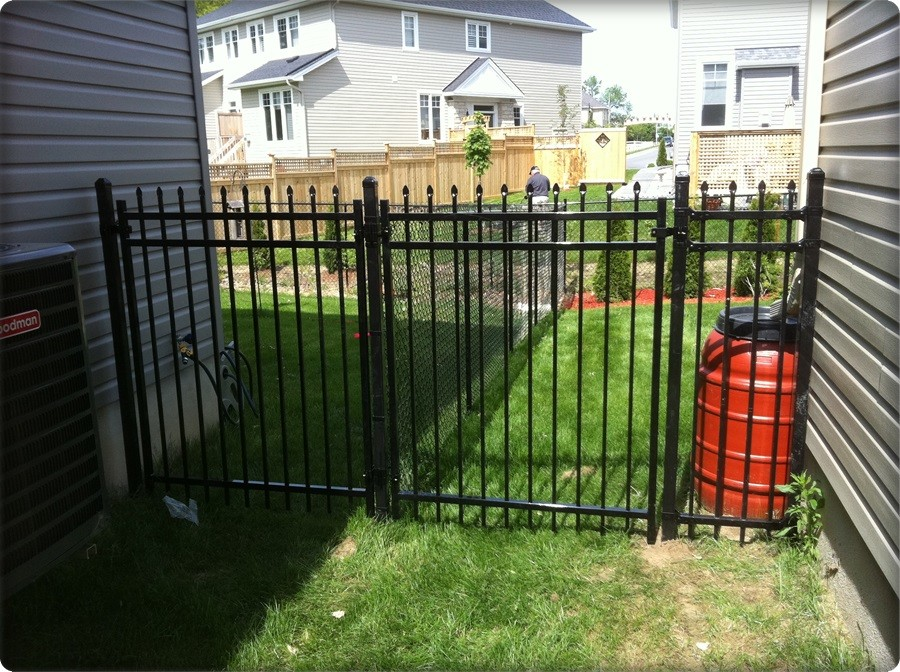 Wrought Iron Fence Aristocrat Dr Style