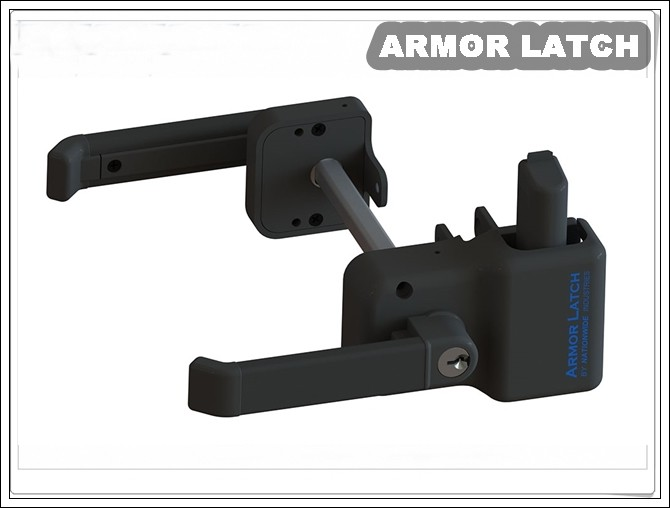 Armor Latch Magnetic Lever Handle Latch