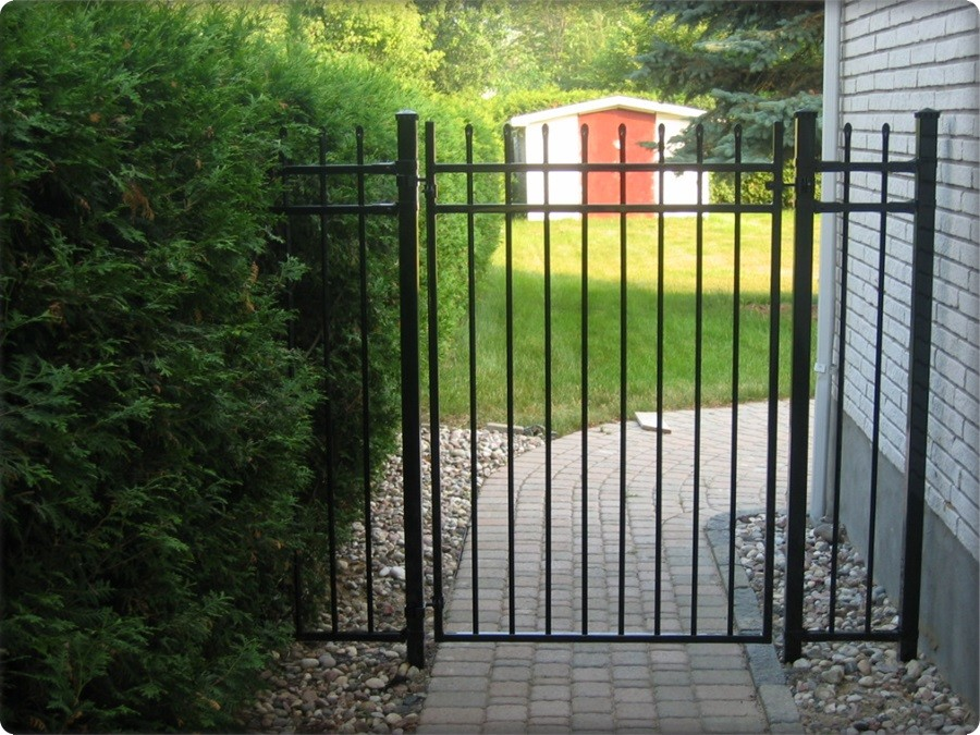 Wrought Iron Fence Aristocrat Dr Gate Black